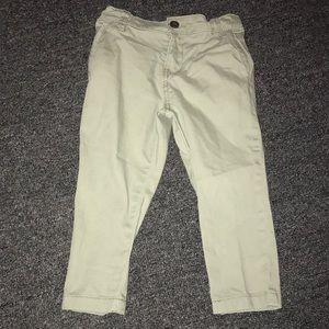 18M olive green OshKosh Pants w/adjustable waist